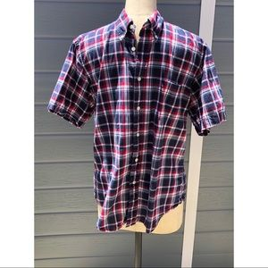 Brooks Brothers plaid button up